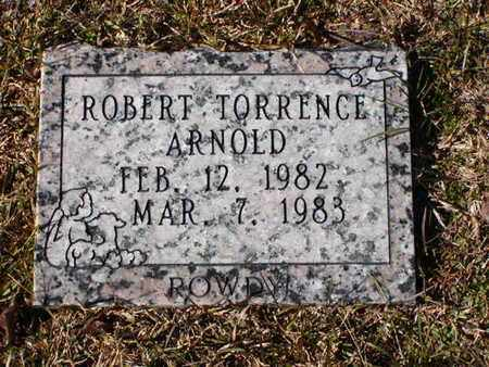 ARNOLD, ROBERT TORRENCE - Bowie County, Texas | ROBERT TORRENCE ARNOLD - Texas Gravestone Photos