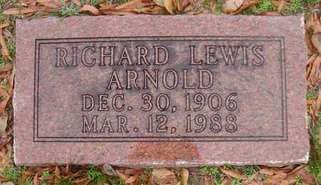 ARNOLD, RICHARD LEWIS - Bowie County, Texas | RICHARD LEWIS ARNOLD - Texas Gravestone Photos