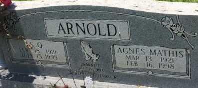 ARNOLD, AGNES  - Bowie County, Texas | AGNES  ARNOLD - Texas Gravestone Photos