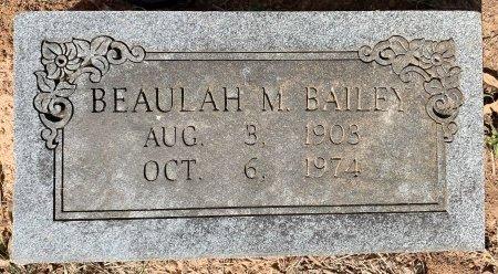 BAILEY, BEAULAH M - Bowie County, Texas | BEAULAH M BAILEY - Texas Gravestone Photos