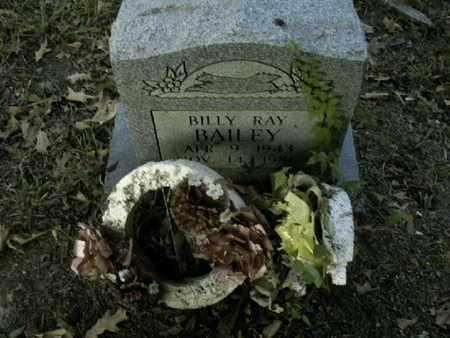 BAILEY, BILLY RAY - Bowie County, Texas | BILLY RAY BAILEY - Texas Gravestone Photos