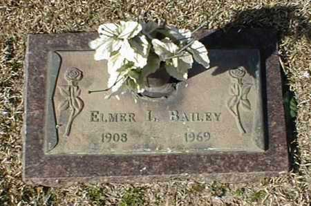 BAILEY, ELMER L - Bowie County, Texas | ELMER L BAILEY - Texas Gravestone Photos
