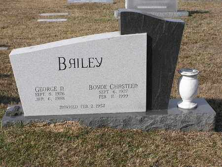 BAILEY, BOYDE CHRISTEEN - Bowie County, Texas | BOYDE CHRISTEEN BAILEY - Texas Gravestone Photos