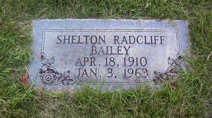 BAILEY, SHELTON RADCLIFF - Bowie County, Texas   SHELTON RADCLIFF BAILEY - Texas Gravestone Photos