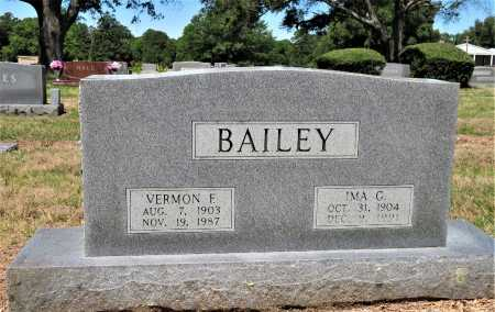 BAILEY, VERNON F - Bowie County, Texas | VERNON F BAILEY - Texas Gravestone Photos
