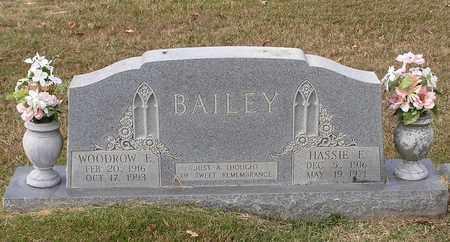 BAILEY, WOODROW E - Bowie County, Texas | WOODROW E BAILEY - Texas Gravestone Photos