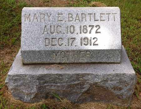 BARTLETT, MARY E - Bowie County, Texas | MARY E BARTLETT - Texas Gravestone Photos