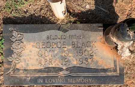 BLACK, SR, GEORGE - Bowie County, Texas | GEORGE BLACK, SR - Texas Gravestone Photos