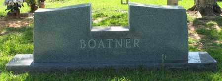 BOATNER, FAMILY MARKER - Bowie County, Texas   FAMILY MARKER BOATNER - Texas Gravestone Photos