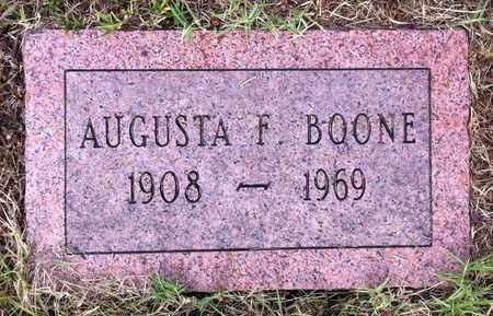 BOONE, AUGUSTA F - Bowie County, Texas   AUGUSTA F BOONE - Texas Gravestone Photos
