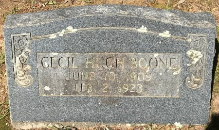 BOONE, CECIL HUGH - Bowie County, Texas | CECIL HUGH BOONE - Texas Gravestone Photos