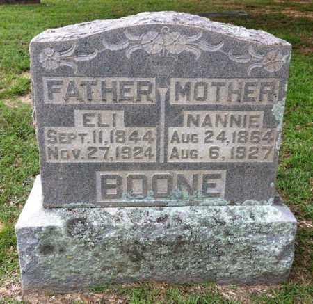 BOONE, ELI - Bowie County, Texas | ELI BOONE - Texas Gravestone Photos