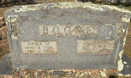 BOONE, NORA M - Bowie County, Texas | NORA M BOONE - Texas Gravestone Photos
