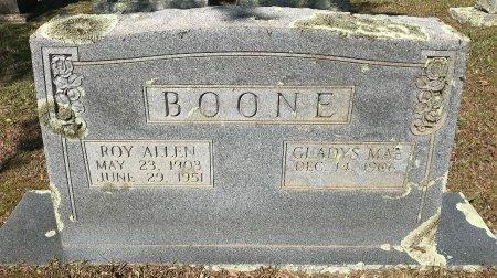 BOONE, GLADYS MAE - Bowie County, Texas   GLADYS MAE BOONE - Texas Gravestone Photos
