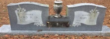 BROWN, SR, FRED D. - Bowie County, Texas | FRED D. BROWN, SR - Texas Gravestone Photos
