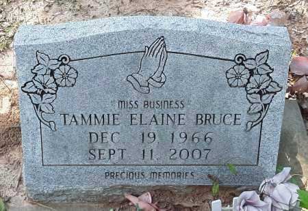 BRUCE, TAMMIE ELAINE - Bowie County, Texas | TAMMIE ELAINE BRUCE - Texas Gravestone Photos