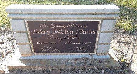BURKS, MARY HELEN - Bowie County, Texas   MARY HELEN BURKS - Texas Gravestone Photos