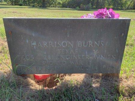 BURNS (VETERAN WWII), HARRISON - Bowie County, Texas | HARRISON BURNS (VETERAN WWII) - Texas Gravestone Photos