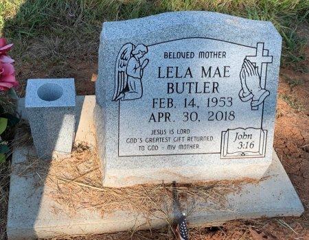BUTLER, LELA MAE - Bowie County, Texas | LELA MAE BUTLER - Texas Gravestone Photos