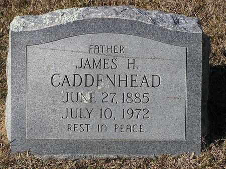 CADDENHEAD, JAMES H - Bowie County, Texas | JAMES H CADDENHEAD - Texas Gravestone Photos