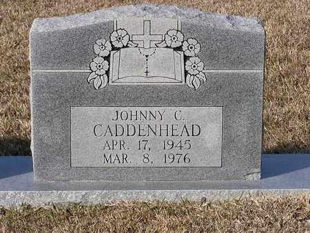 CADDENHEAD, JOHNNY C (CLOSEUP) - Bowie County, Texas | JOHNNY C (CLOSEUP) CADDENHEAD - Texas Gravestone Photos