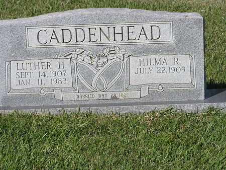 CADDENHEAD, LUTHER H - Bowie County, Texas | LUTHER H CADDENHEAD - Texas Gravestone Photos