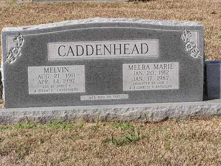 CADDENHEAD, MELBA MARIE - Bowie County, Texas | MELBA MARIE CADDENHEAD - Texas Gravestone Photos