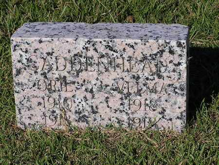 CADDENHEAD, VELMA - Bowie County, Texas | VELMA CADDENHEAD - Texas Gravestone Photos