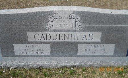 CADDENHEAD, WORENE (CLOSEUP) - Bowie County, Texas | WORENE (CLOSEUP) CADDENHEAD - Texas Gravestone Photos