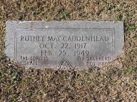 CADDENHEAD, RUTHEY MAY - Bowie County, Texas   RUTHEY MAY CADDENHEAD - Texas Gravestone Photos