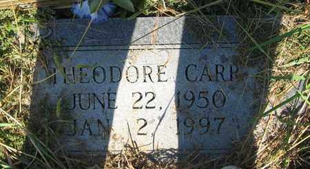 CARR, THEODORE - Bowie County, Texas | THEODORE CARR - Texas Gravestone Photos
