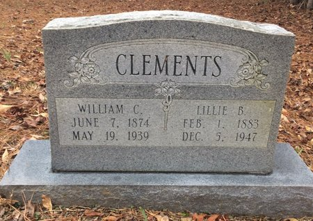 RATHBURN CLEMENTS, LILLIE B. - Bowie County, Texas | LILLIE B. RATHBURN CLEMENTS - Texas Gravestone Photos