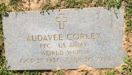 CORLEY (VETERAN WWII), AUDAVEE  - Bowie County, Texas | AUDAVEE  CORLEY (VETERAN WWII) - Texas Gravestone Photos