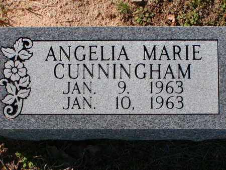 CUNNINGHAM, ANGELIA MARIE - Bowie County, Texas | ANGELIA MARIE CUNNINGHAM - Texas Gravestone Photos