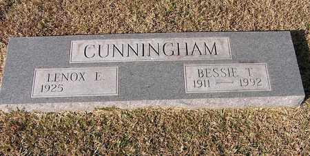 CUNNINGHAM, BESSIE T - Bowie County, Texas | BESSIE T CUNNINGHAM - Texas Gravestone Photos