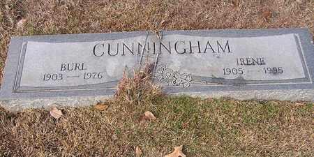 CUNNINGHAM, IRENE - Bowie County, Texas   IRENE CUNNINGHAM - Texas Gravestone Photos
