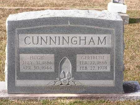 CUNNINGHAM, HUGH - Bowie County, Texas | HUGH CUNNINGHAM - Texas Gravestone Photos