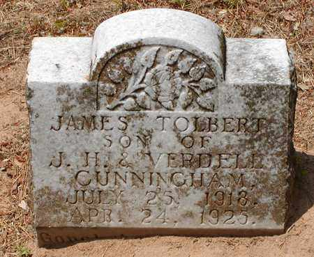 CUNNINGHAM, JAMES TOLBERT - Bowie County, Texas | JAMES TOLBERT CUNNINGHAM - Texas Gravestone Photos