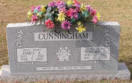 CUNNINGHAM, THELMA L - Bowie County, Texas | THELMA L CUNNINGHAM - Texas Gravestone Photos