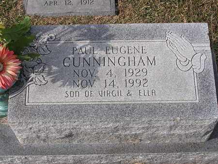 CUNNINGHAM, PAUL EUGENE - Bowie County, Texas | PAUL EUGENE CUNNINGHAM - Texas Gravestone Photos
