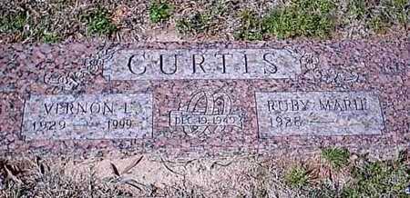 CURTIS, VERNON L - Bowie County, Texas | VERNON L CURTIS - Texas Gravestone Photos