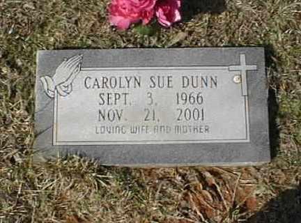 DUNN, CAROLYN SUE - Bowie County, Texas | CAROLYN SUE DUNN - Texas Gravestone Photos