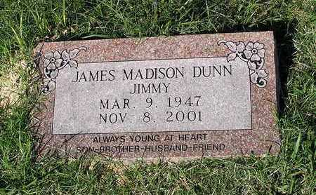 """DUNN, JAMES MADISON """"JIMMY"""" - Bowie County, Texas 