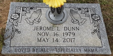 DUNN, JEROME L - Bowie County, Texas | JEROME L DUNN - Texas Gravestone Photos