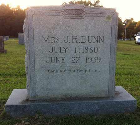 DUNN, J R, MRS - Bowie County, Texas | J R, MRS DUNN - Texas Gravestone Photos