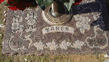 DUNN, KAREN - Bowie County, Texas | KAREN DUNN - Texas Gravestone Photos