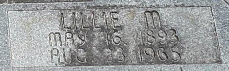DUNN, LILLIE M (CLOSEUP) - Bowie County, Texas | LILLIE M (CLOSEUP) DUNN - Texas Gravestone Photos