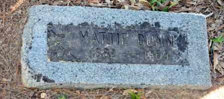 DUNN, MATTIE - Bowie County, Texas | MATTIE DUNN - Texas Gravestone Photos