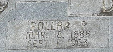 DUNN, ROLLAR P (CLOSEUP) - Bowie County, Texas | ROLLAR P (CLOSEUP) DUNN - Texas Gravestone Photos