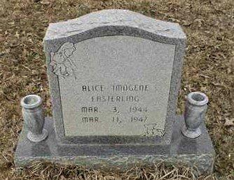 EASTERLING, ALICE IMOGENE - Bowie County, Texas | ALICE IMOGENE EASTERLING - Texas Gravestone Photos